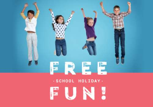 Free fun for the kids these April school holidays